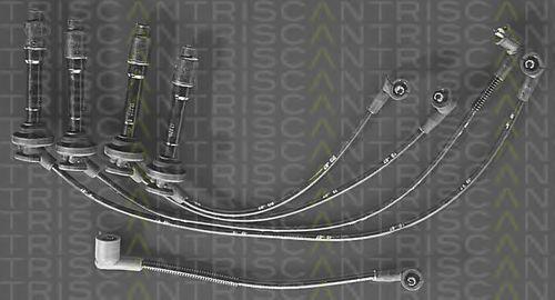 Комплект проводов зажигания TRISCAN 88606820