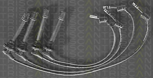 Комплект проводов зажигания TRISCAN 88607209