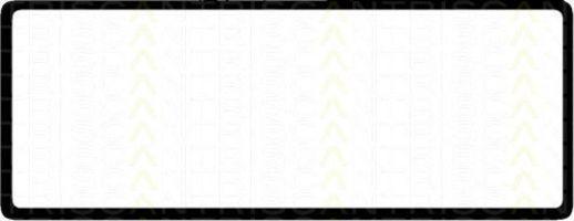 Прокладка, крышка головки цилиндра TRISCAN 5151807