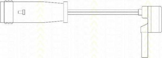 Сигнализатор, износ тормозных колодок TRISCAN 811523011