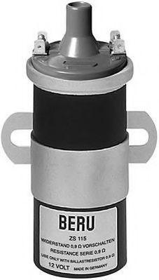 Катушка зажигания BERU ZS 115