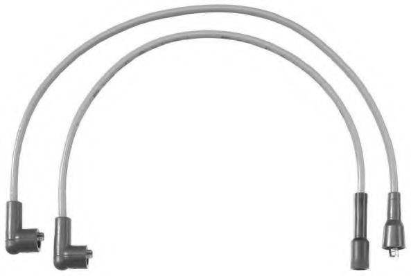 Комплект проводов зажигания BERU C15
