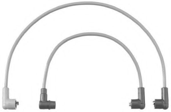 Комплект проводов зажигания BERU C20