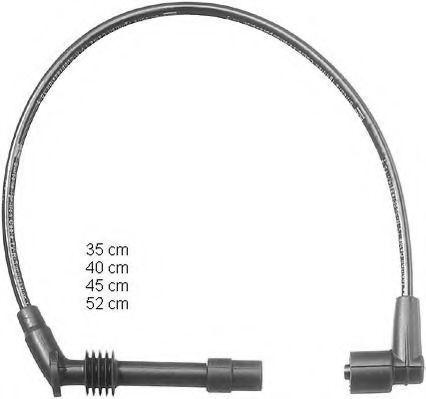Провода высоковольтные комплект BERU ZEF1124