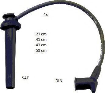 Провода высоковольтные комплект BERU ZEF1635