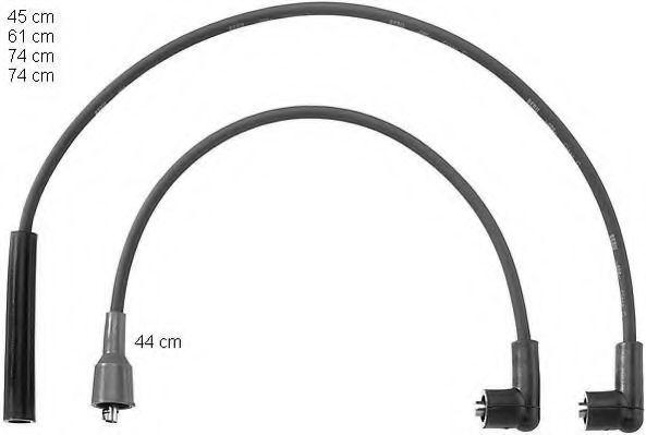 Провода высоковольтные комплект BERU ZEF 776
