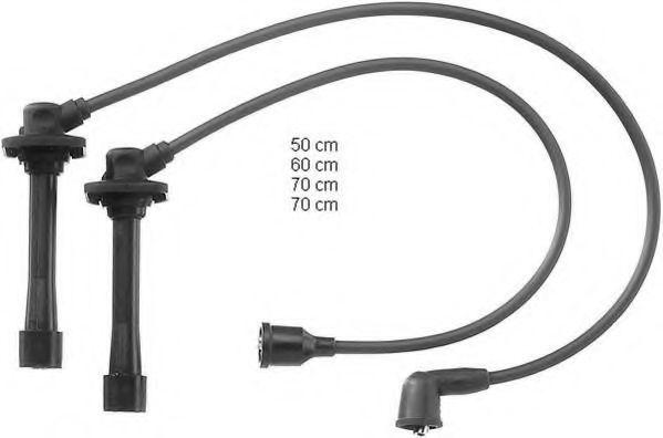 Провода высоковольтные комплект BERU ZEF859