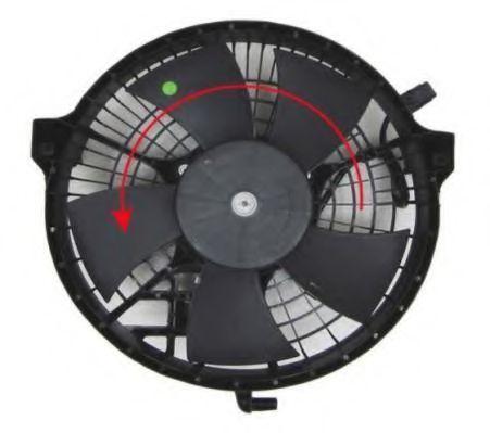 Вентилятор, охлаждение двигателя BERU LE090