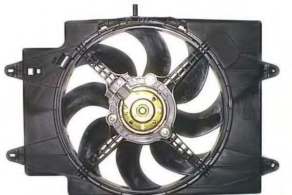 Вентилятор, охлаждение двигателя BERU LE500