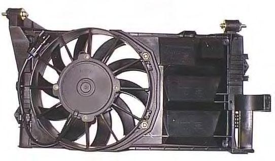 Вентилятор, охлаждение двигателя BERU LE520
