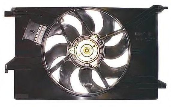 Вентилятор, охлаждение двигателя BERU LE566