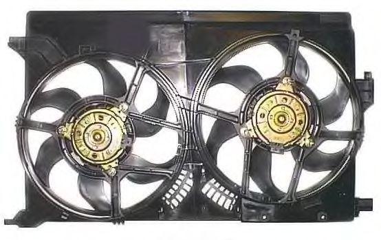 Вентилятор, охлаждение двигателя BERU LE567