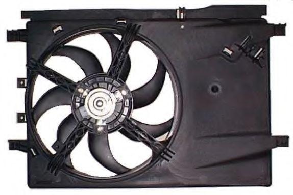 Вентилятор, охлаждение двигателя BERU LE576