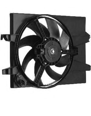 Вентилятор, охлаждение двигателя BERU LE595