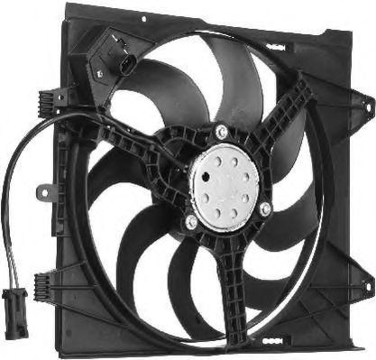 Вентилятор, охлаждение двигателя BERU LE599