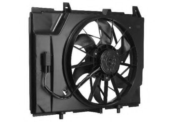 Вентилятор, охлаждение двигателя BERU LE618