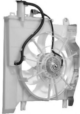 Вентилятор, охлаждение двигателя BERU LE634