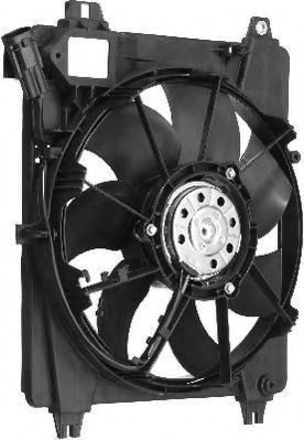 Вентилятор, охлаждение двигателя BERU LE637