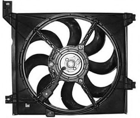 Вентилятор, охлаждение двигателя BERU LE663