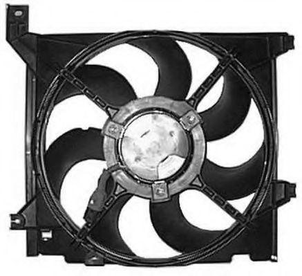 Вентилятор, охлаждение двигателя BERU LE664