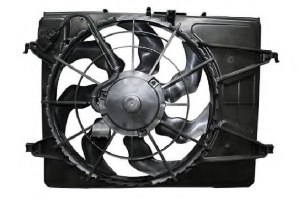 Вентилятор, охлаждение двигателя BERU LE671