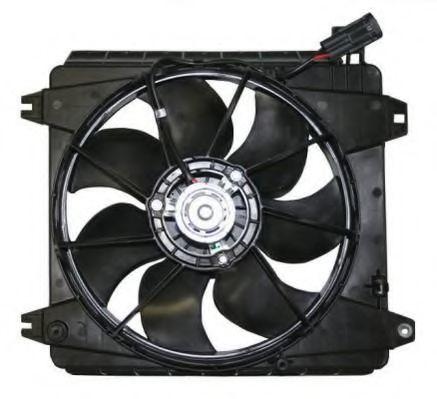 Вентилятор, охлаждение двигателя BERU LE684