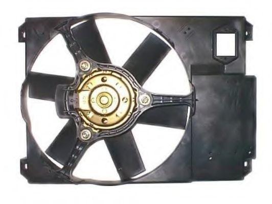 Вентилятор, охлаждение двигателя BERU LE706
