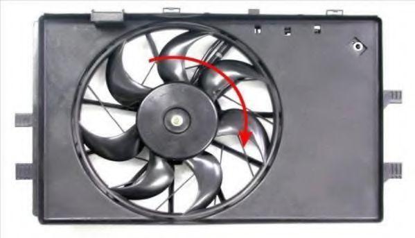 Вентилятор, охлаждение двигателя BERU LE724