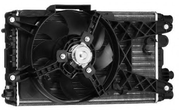 Вентилятор, охлаждение двигателя BERU LEK001