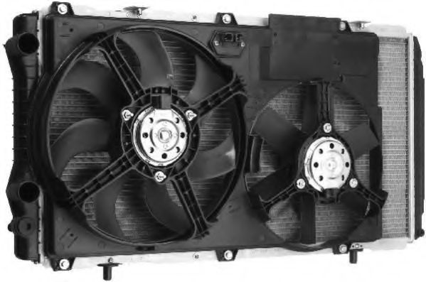 Вентилятор, охлаждение двигателя BERU LEK005