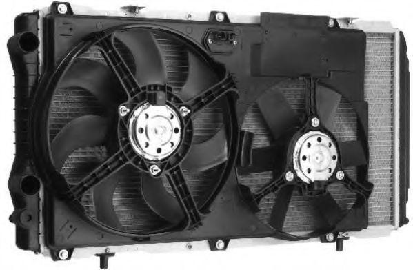 Вентилятор, охлаждение двигателя BERU LEK006