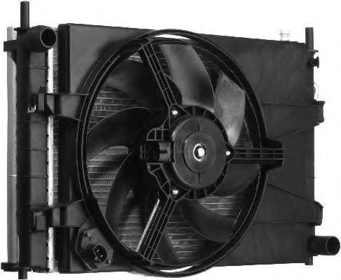 Вентилятор, охлаждение двигателя BERU LEK007