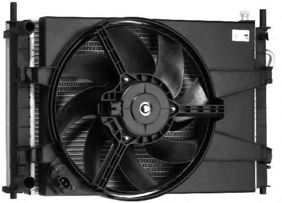 Вентилятор, охлаждение двигателя BERU LEK008