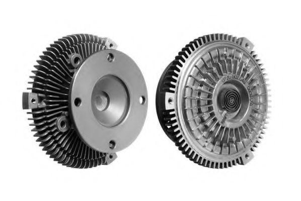 Сцепление, вентилятор радиатора BERU LK049