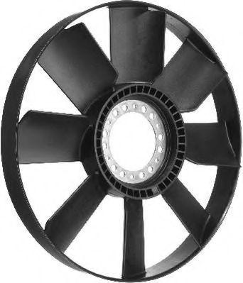 Крыльчатка вентилятора, охлаждение двигателя BERU LR024