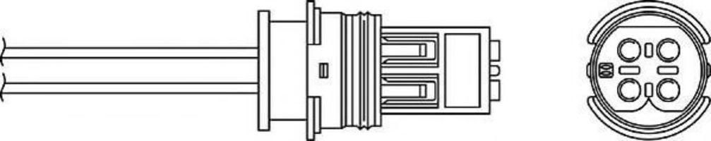 Лямбда-зонд BERU OPH 039