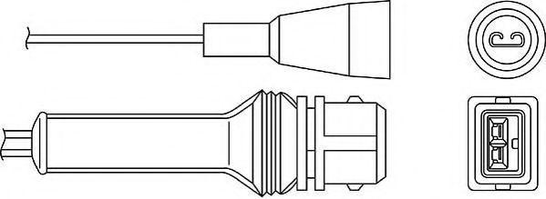 Лямбда-зонд BERU OZH027