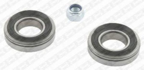 Комплект подшипника ступицы колеса NTN-SNR R15508