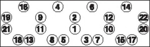 Болты ГБЦ комплект PAYEN HBS011