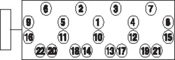 Болты ГБЦ комплект PAYEN HBS015