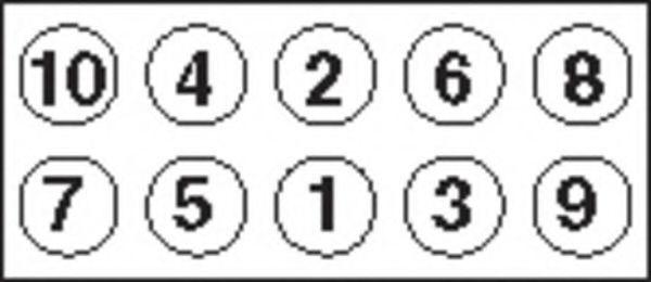 Болты ГБЦ комплект PAYEN HBS043