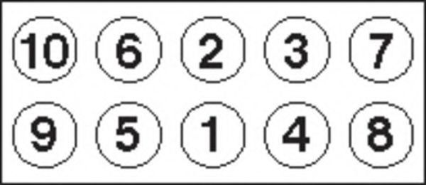 Болты ГБЦ комплект PAYEN HBS054