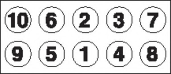 Болты ГБЦ комплект PAYEN HBS 055