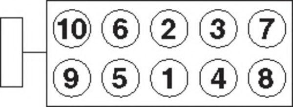 Болты ГБЦ комплект PAYEN HBS084