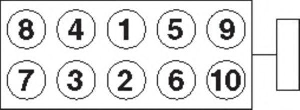 Болты ГБЦ комплект PAYEN HBS245