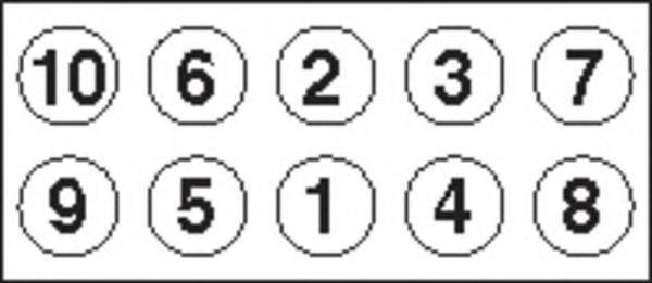 Комплект болтов головки цилидра PAYEN HBS279