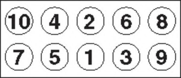 Комплект болтов головки цилидра PAYEN HBS284