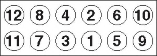 Комплект болтов головки цилидра PAYEN HBS293