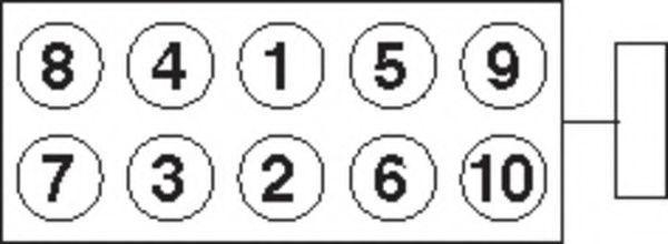 Болты ГБЦ комплект PAYEN HBS 372