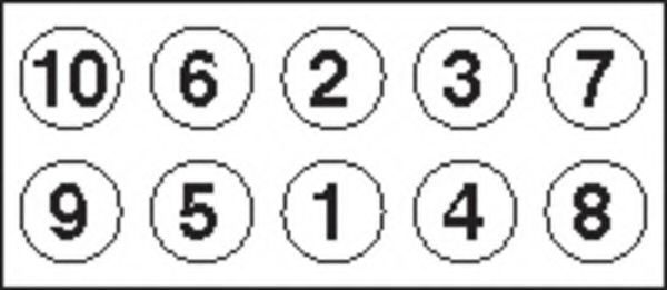 Комплект болтов головки цилидра PAYEN HBS440